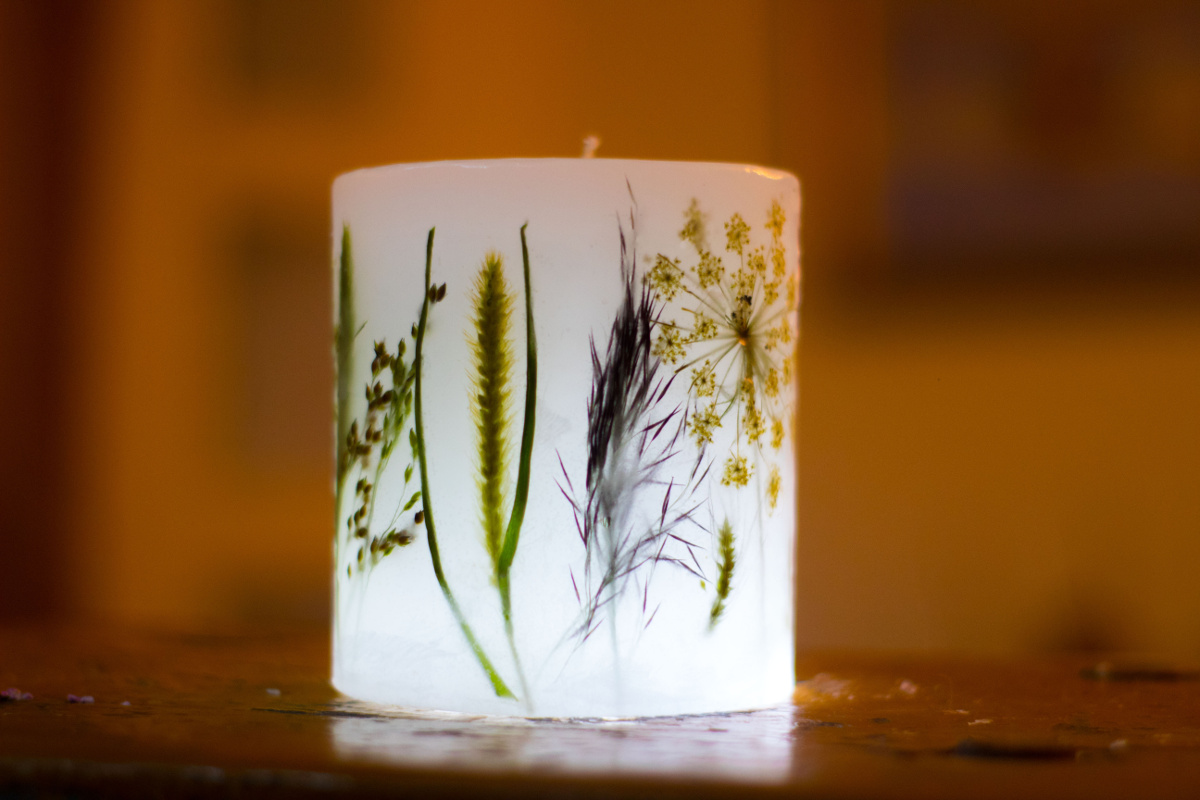 świece lampiony handmade