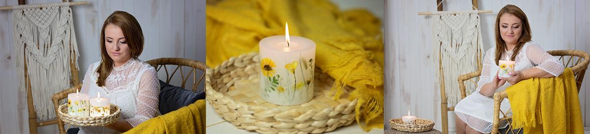 Świece z kwiatami - MAGNITUDO - O mnie